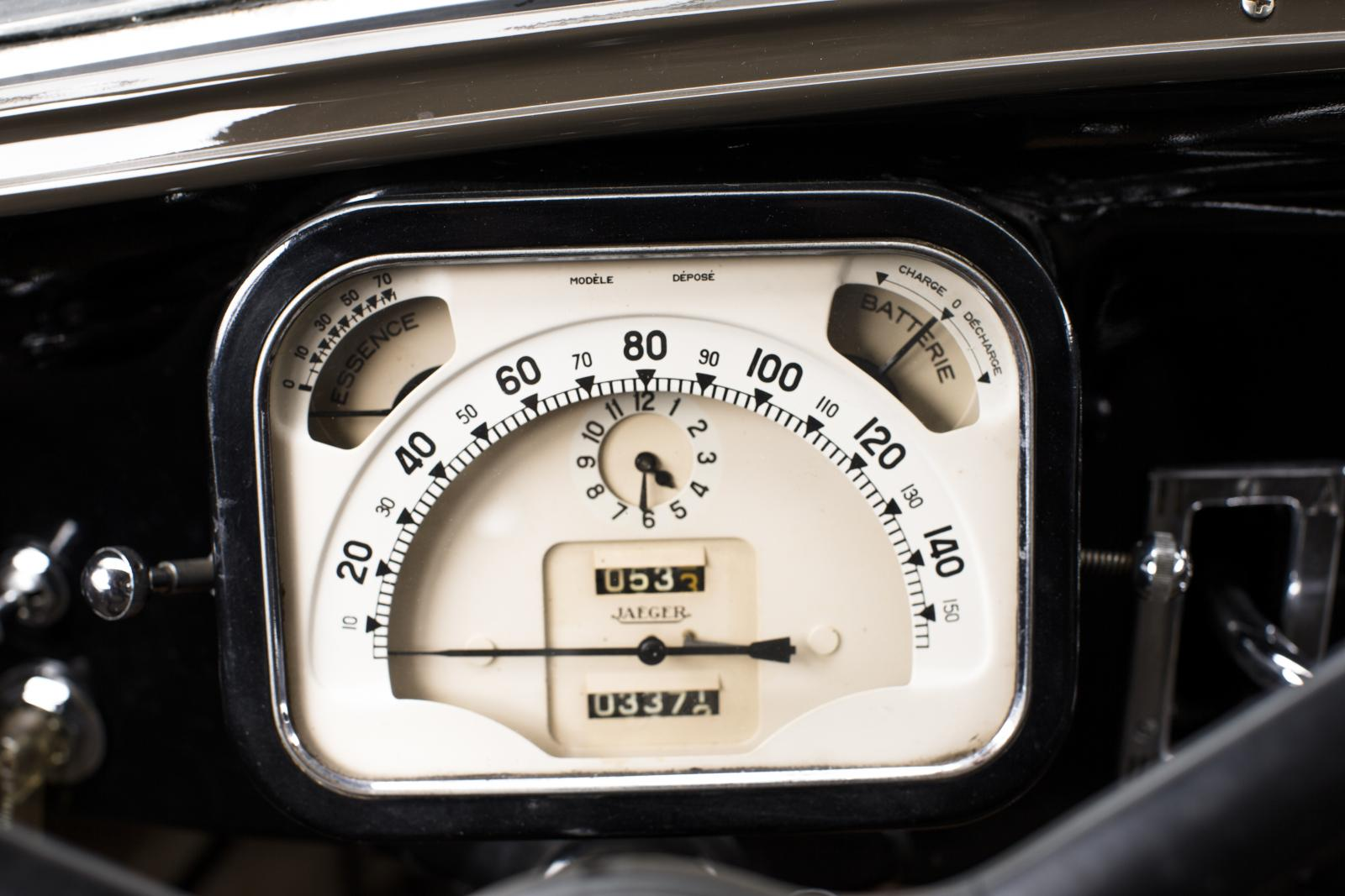 Traction 15 SIX speedometer