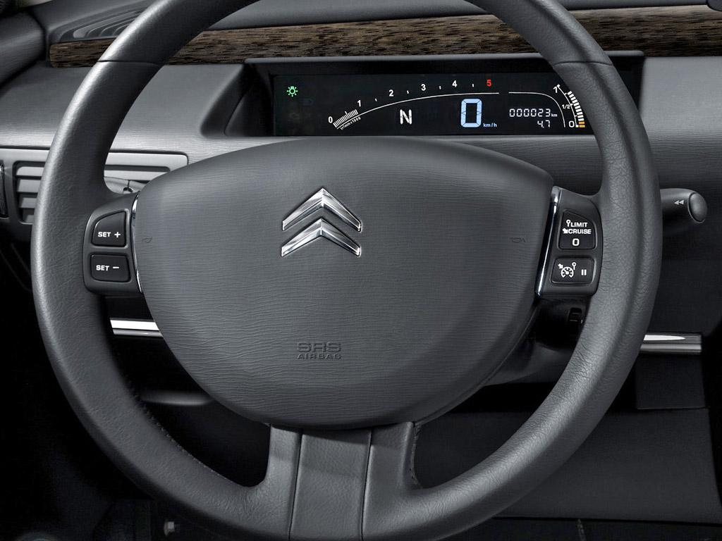 C6 V6 HDI exclusive 2005 zone compteur