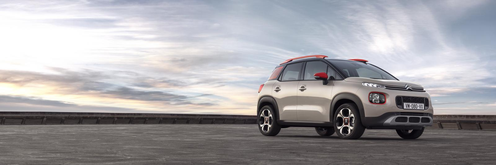 C3 Aircross Compact SUV- 3/4 front