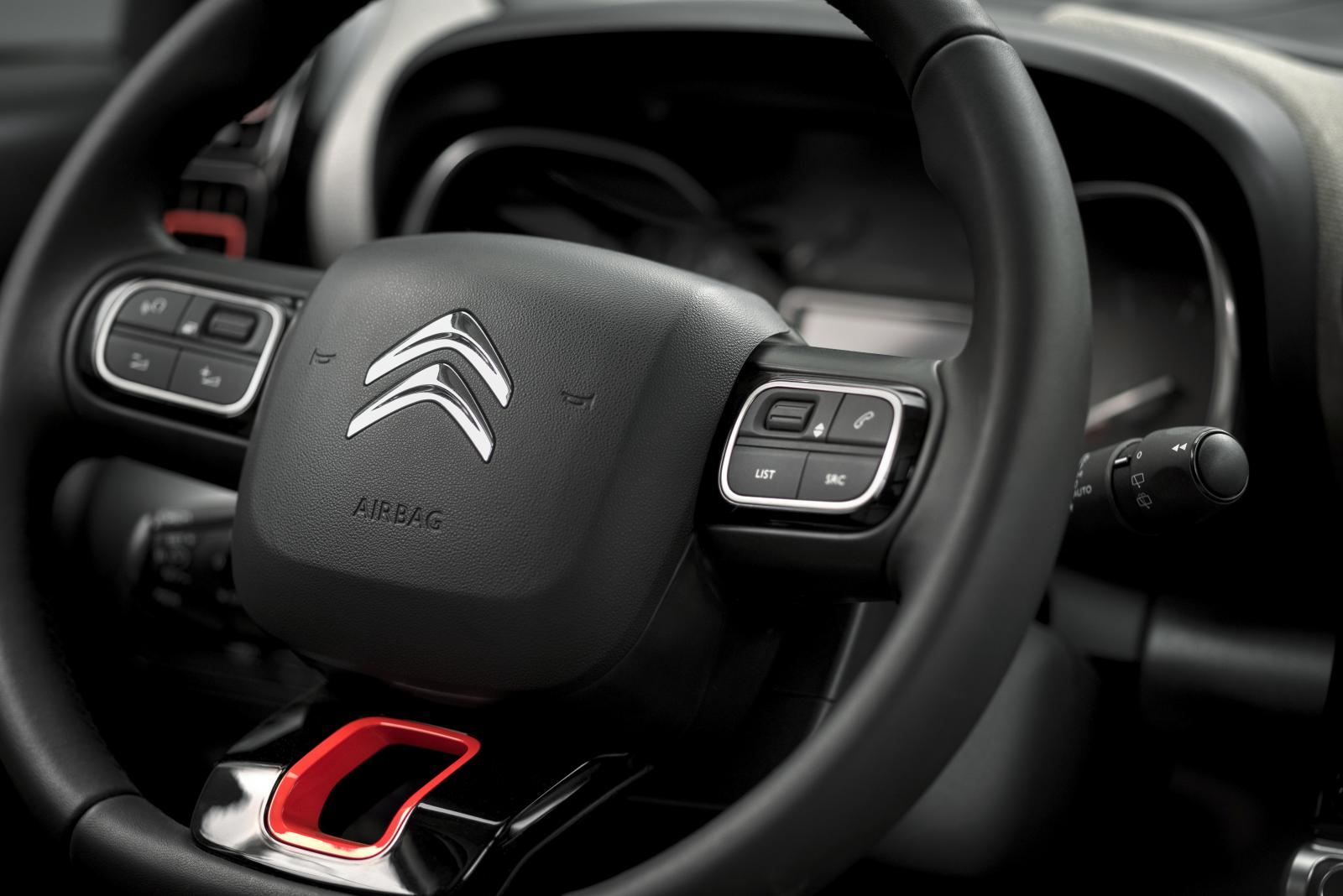 C3 Aircross Compact SUV - Steering wheel